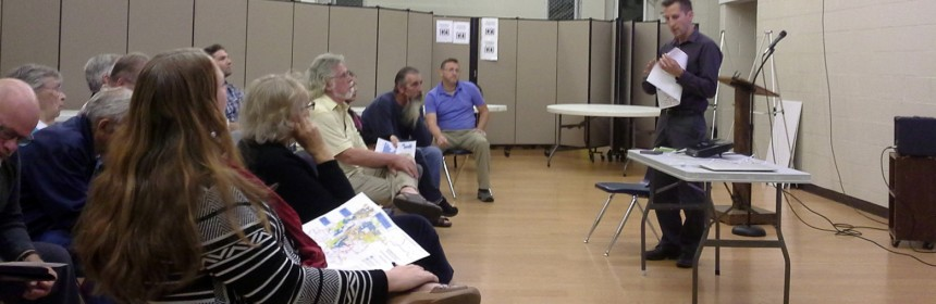 Photo of the October 20, 2015 Ruby Hill-Godsman Neighborhood Association meeting.