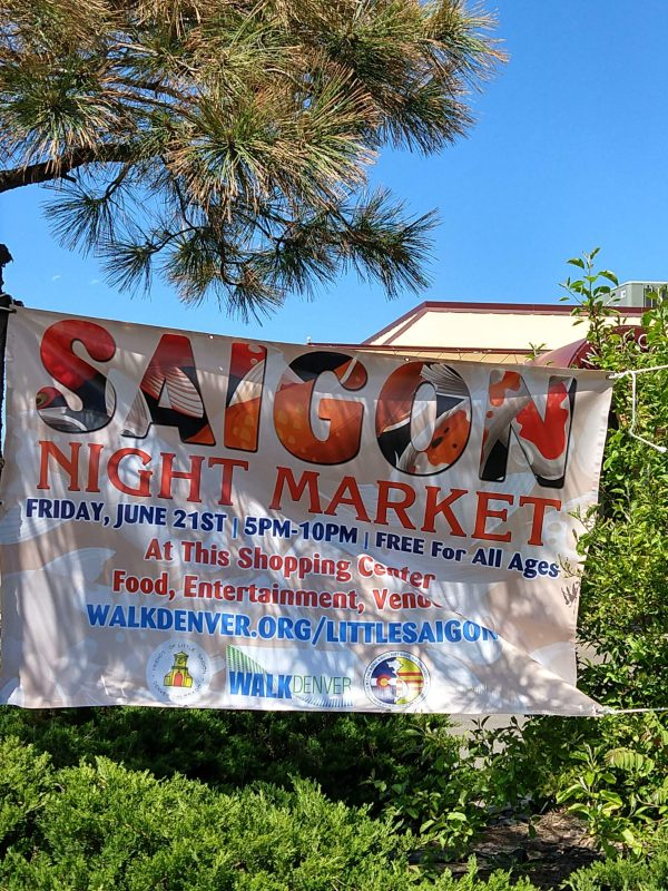 Siagon Night Market sign