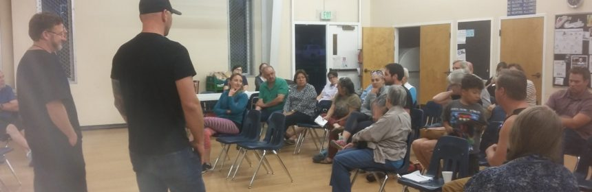 Neighborhood Association meeting from September 2017